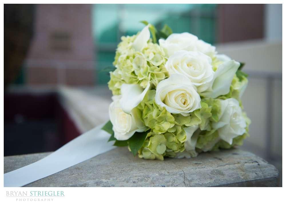 Fayetteville, Arkansas wedding bouquet