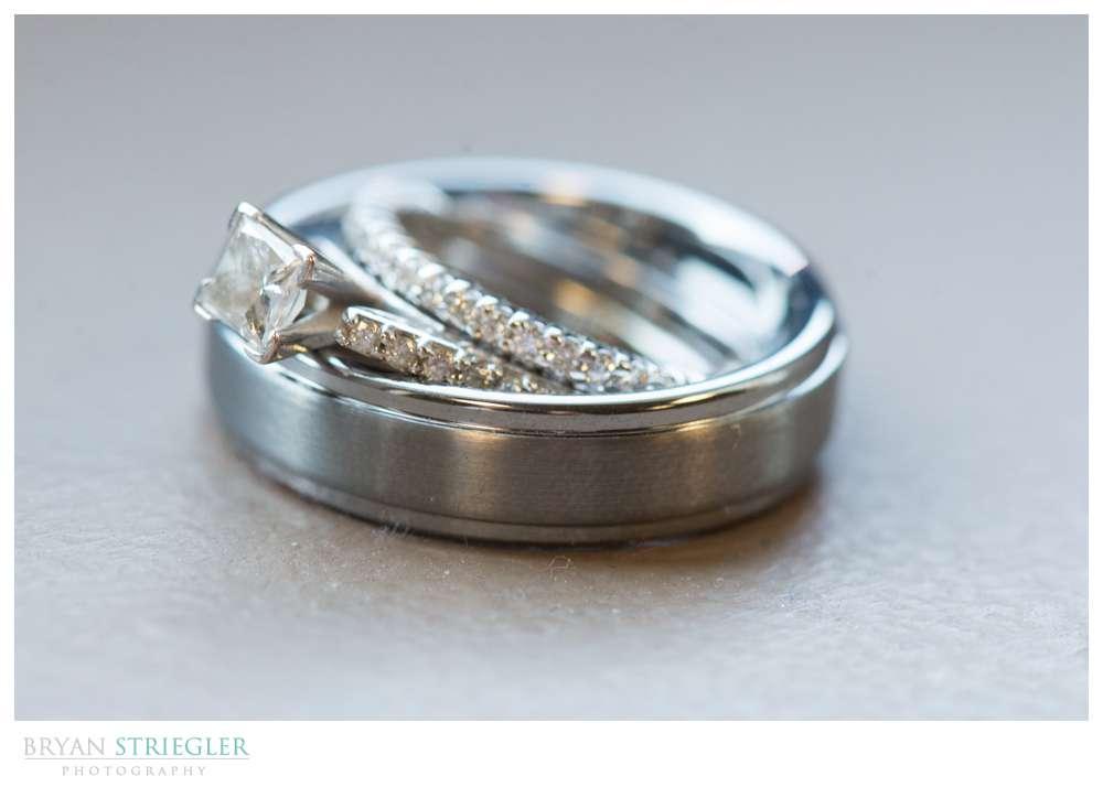 Springdale Arkansas Wedding rings