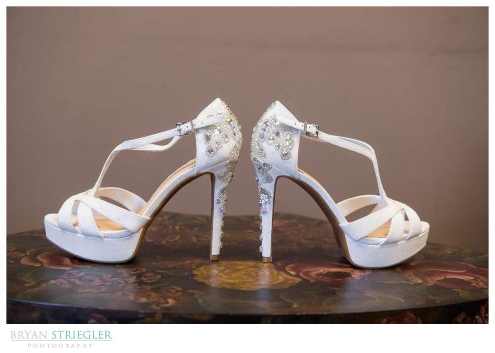Springdale Arkansas Wedding shoes