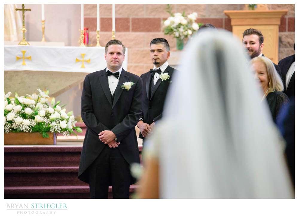 wedding at St. Joseph's