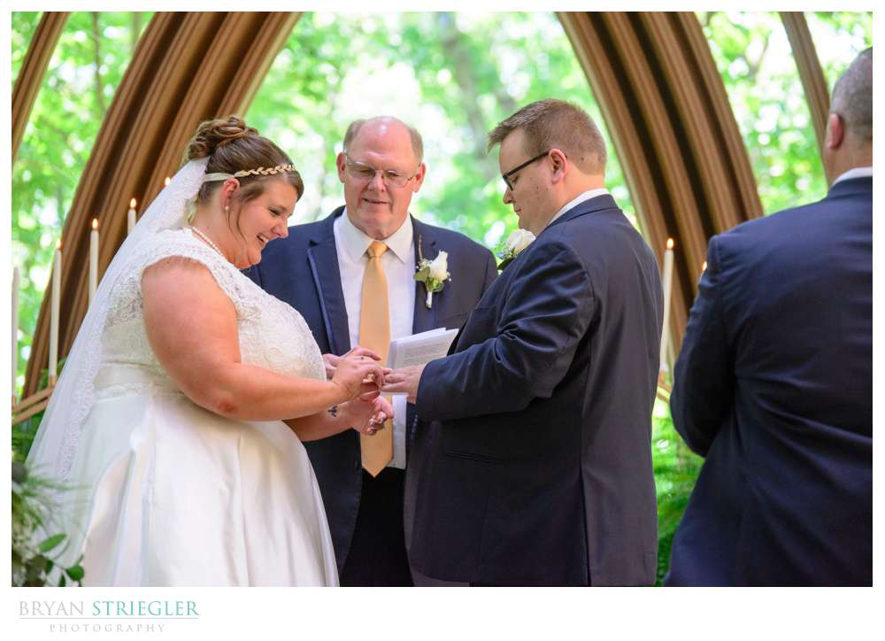 father of the bride is officiant