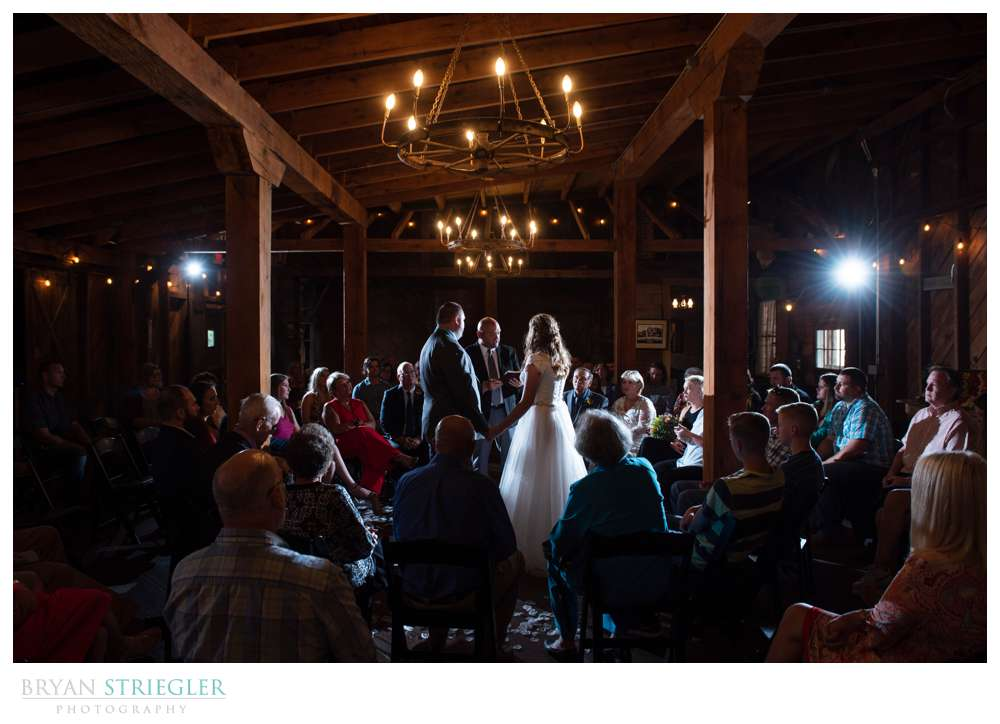 Washington County Milling company wedding