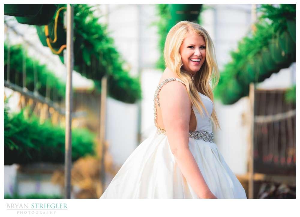 bridal portraits in Fayetteville