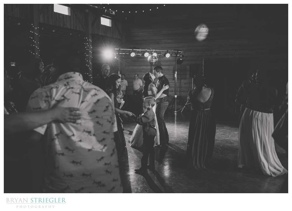 dancing at Cypress Barn Wedding