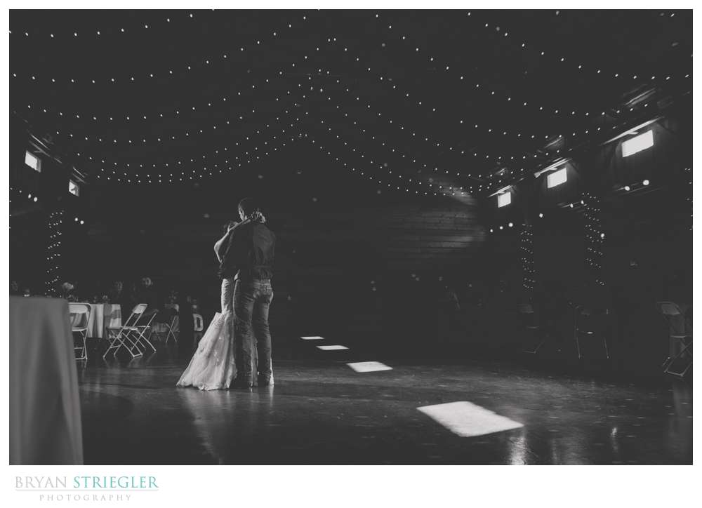 First dance at Cypress Barn