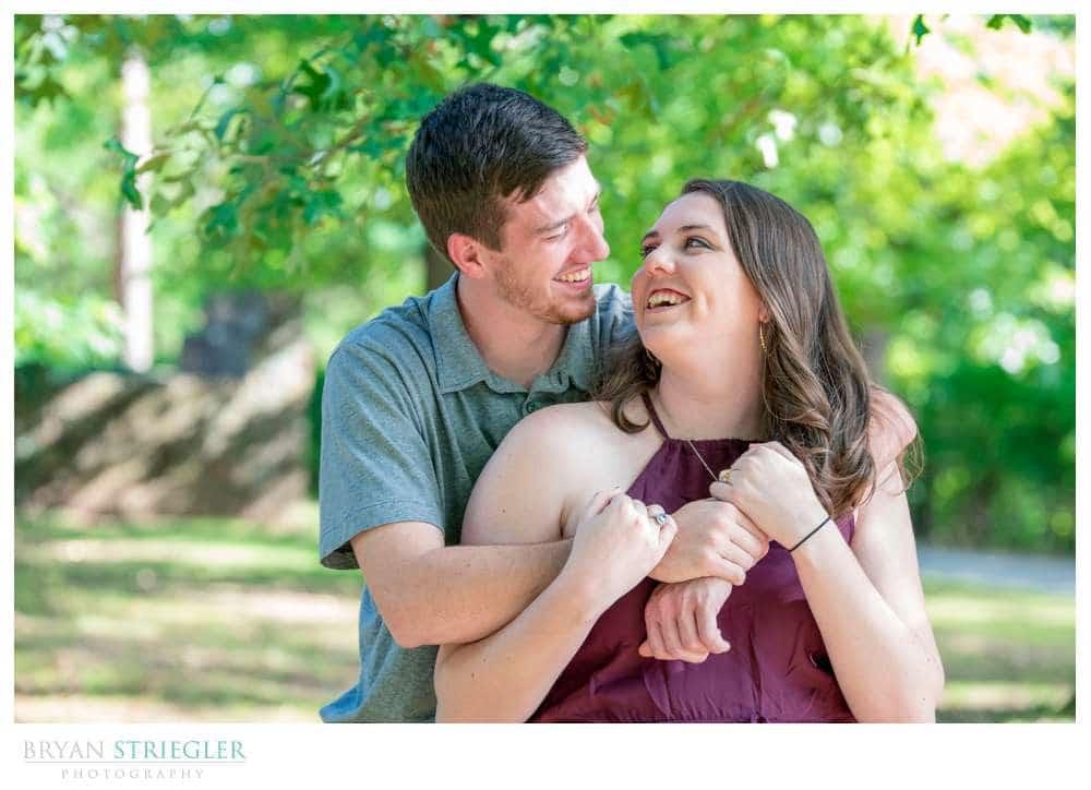 Fayetteville ar engagement