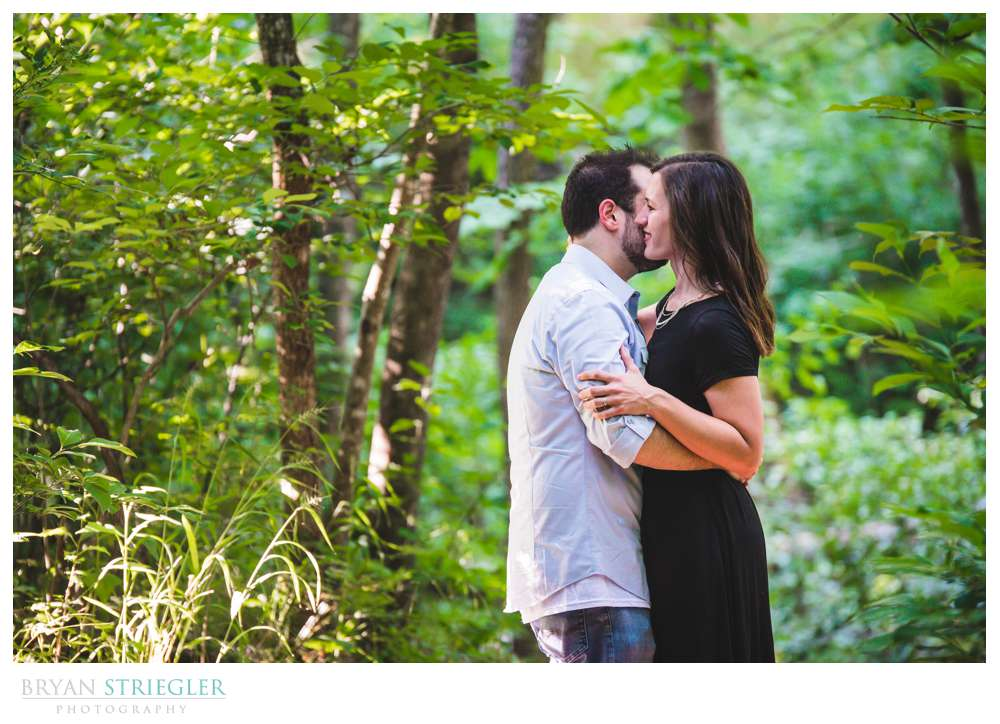 engagement session at Tanyard Creek