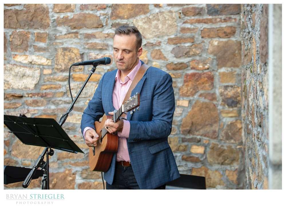 guitar song at wedding