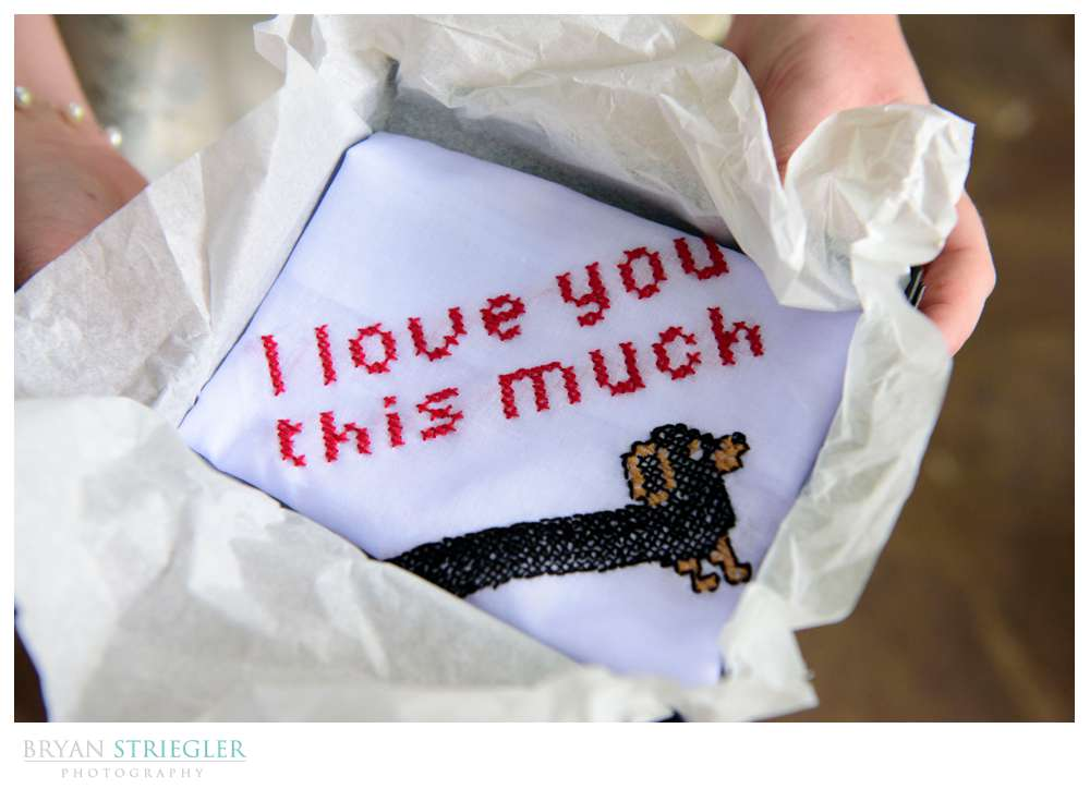 personalized gift to groom