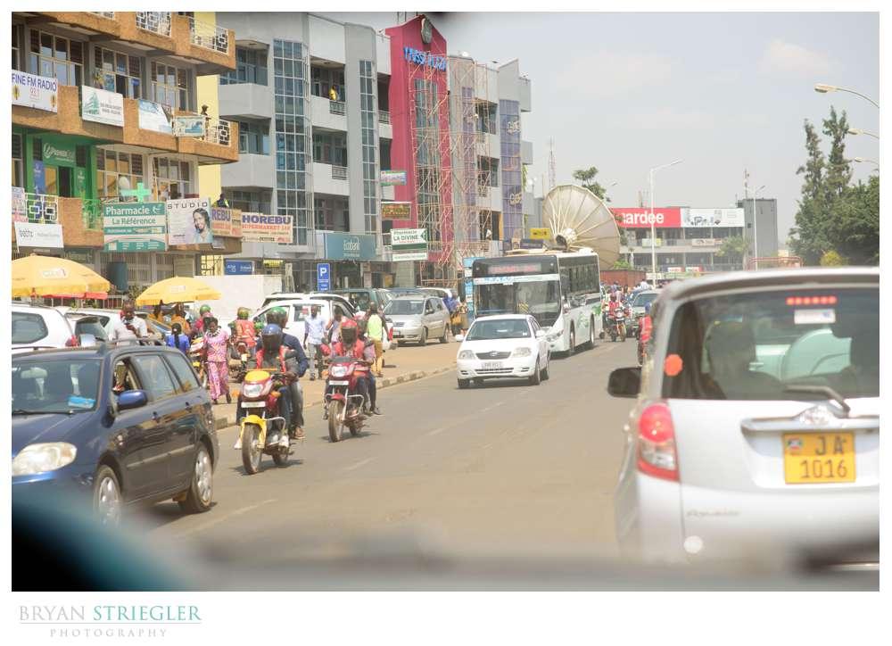 traffic in Kigali