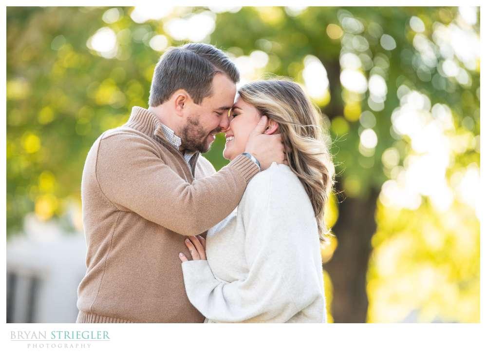 Fall engagement photos