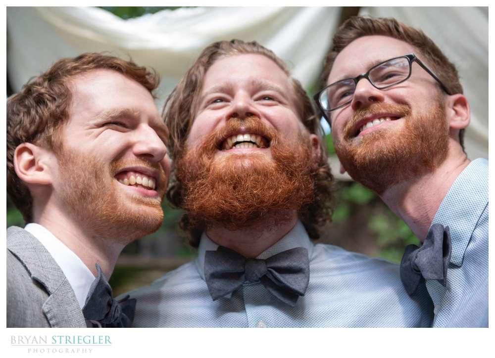 groomsmen beards