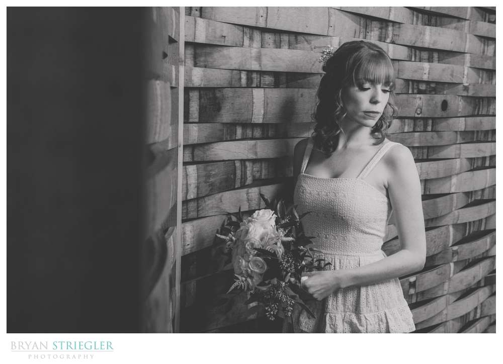 bridal portait at LakePoint