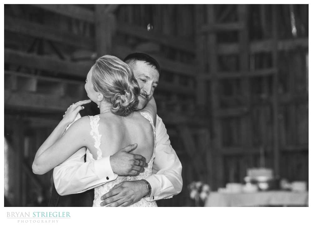 father daughter dance at Hat Creek Ranch