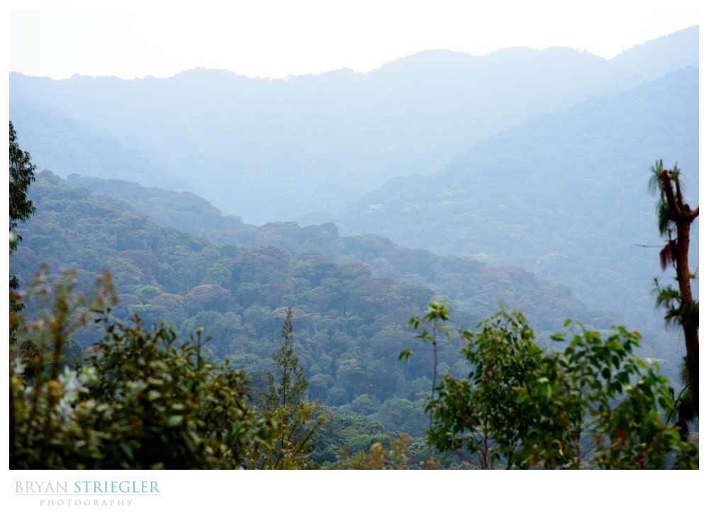 Banda village view