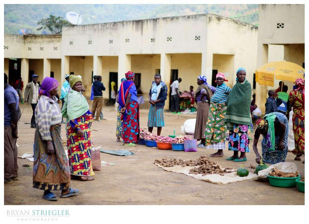 Banda village market