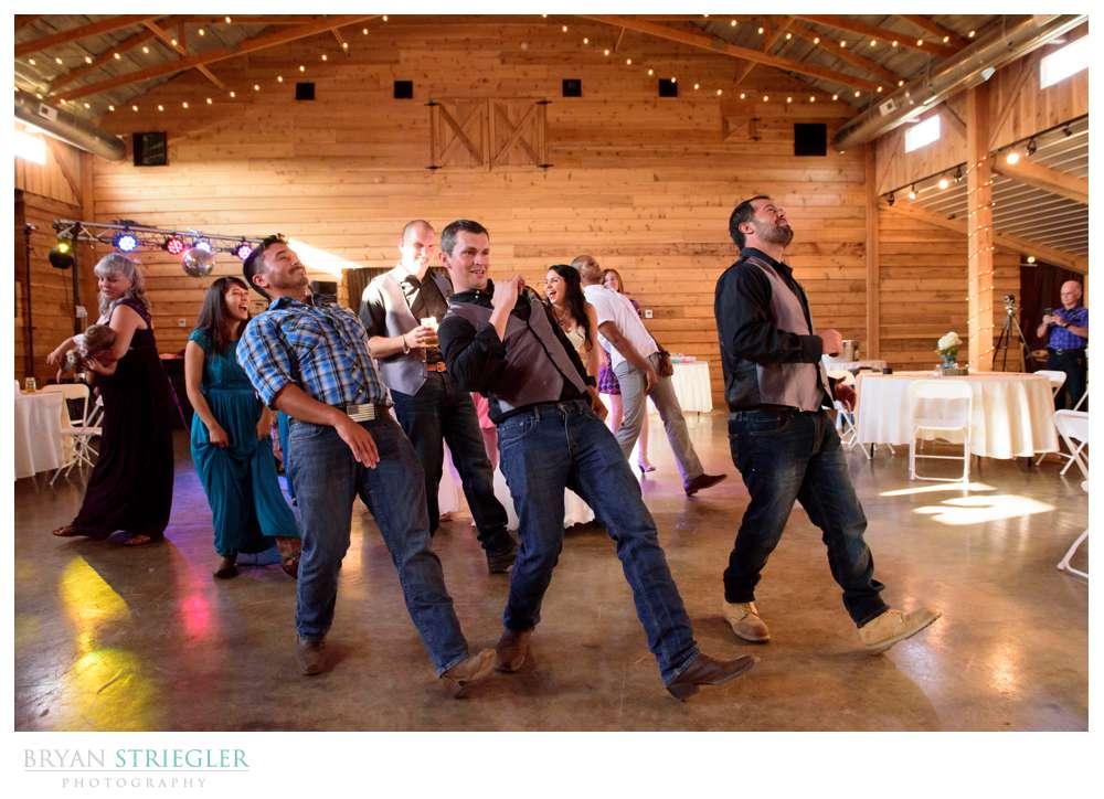 people dancing at Cypress Barn