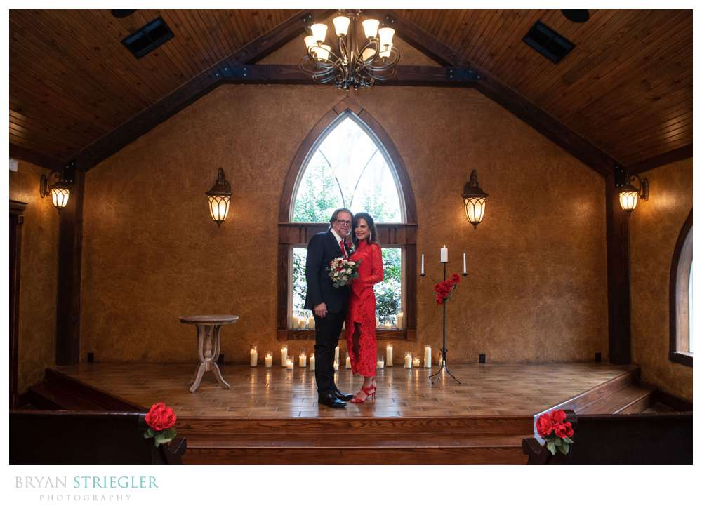 Intimate wedding at St. Anthony's on the Creek