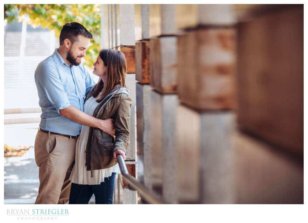 engagement session at Compton gardens