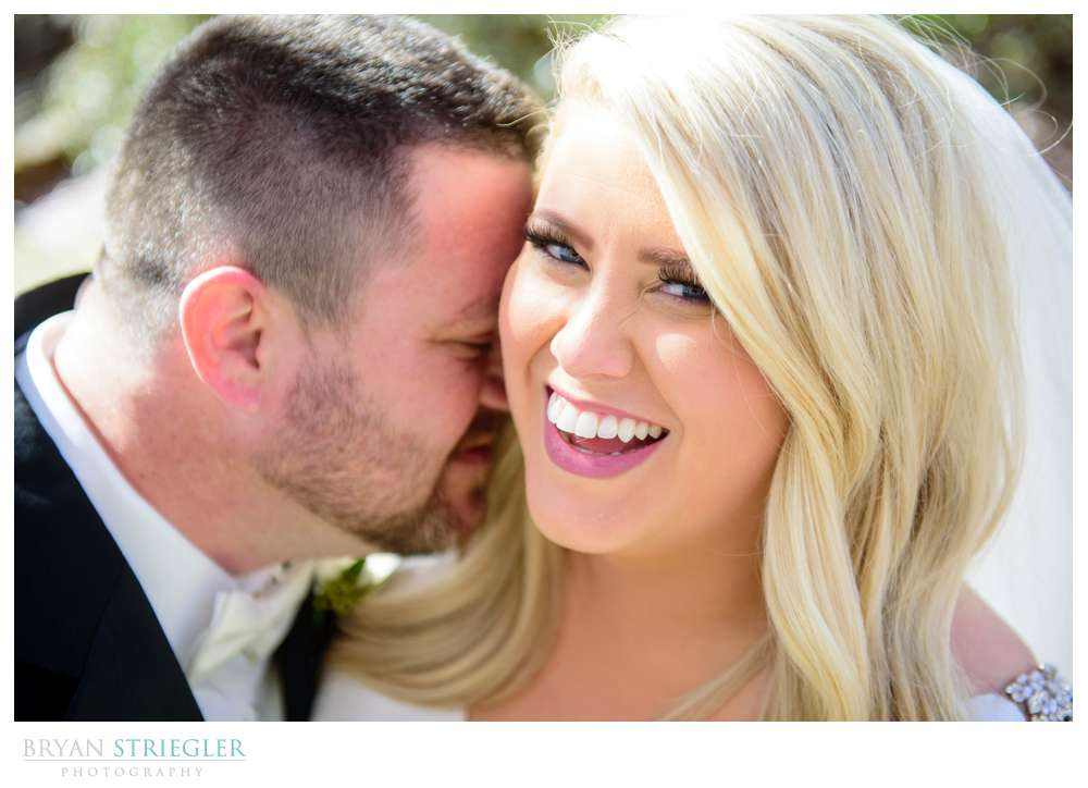 tight portrait of couple