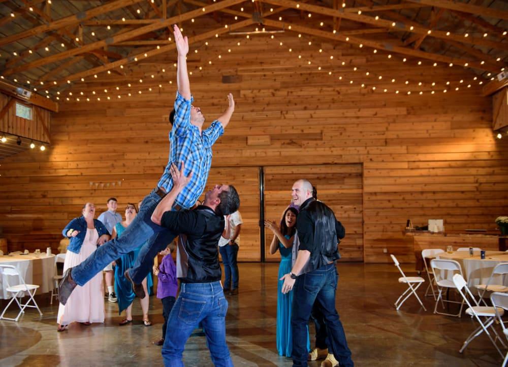 Cypress Barn Wedding