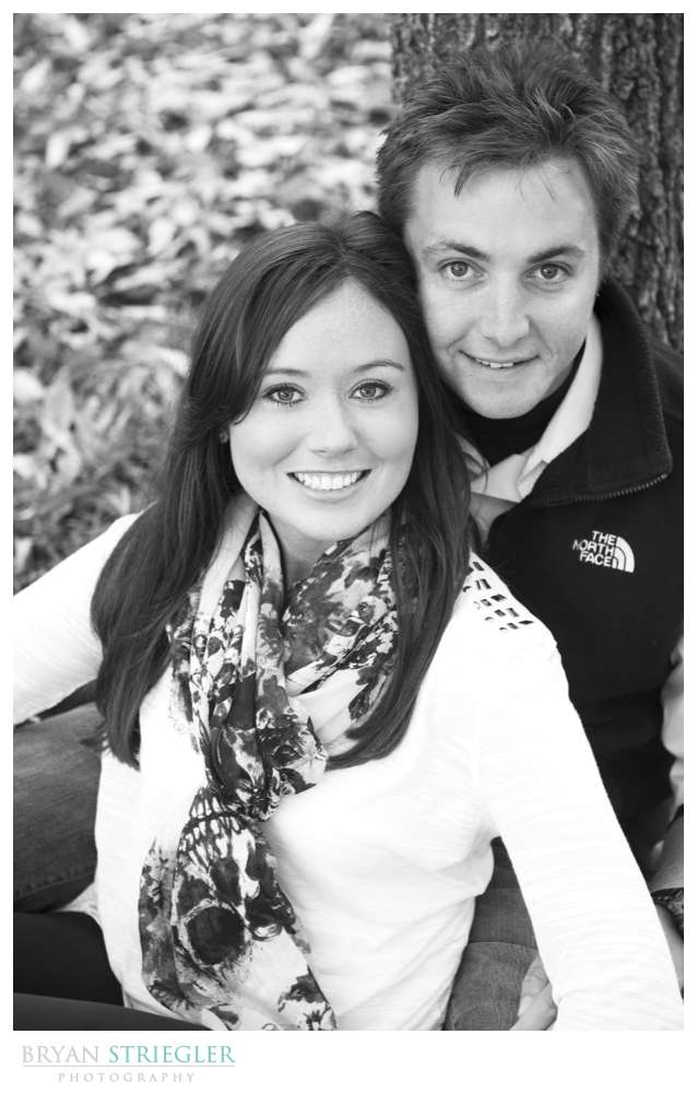 Engagement Photos black and white