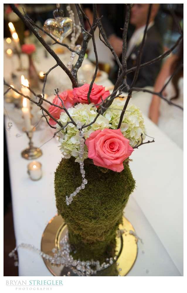 Creative wedding tree decoration