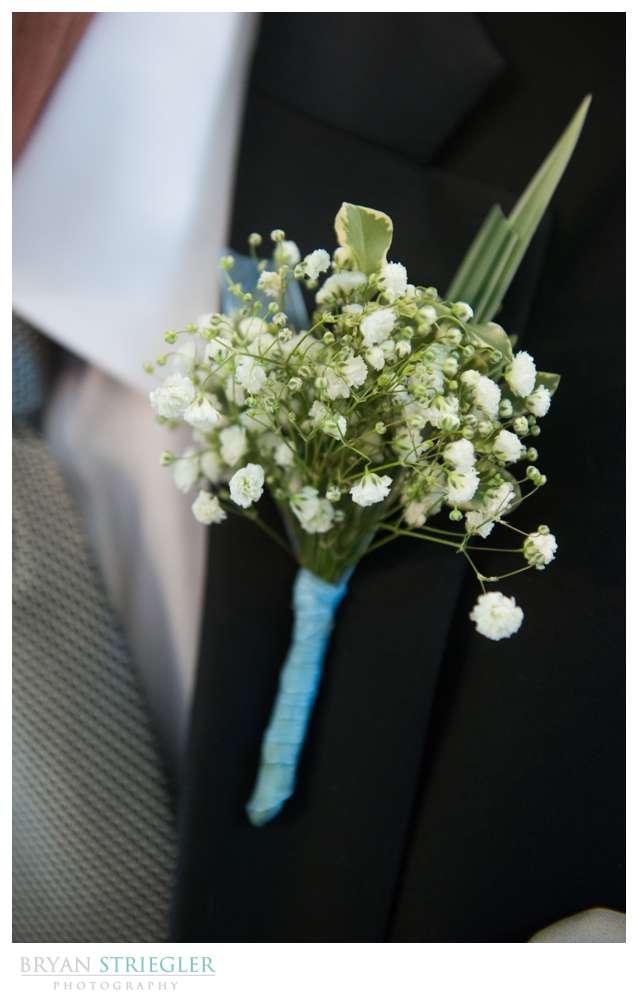 Fayetteville, Arkansas wedding boutineer