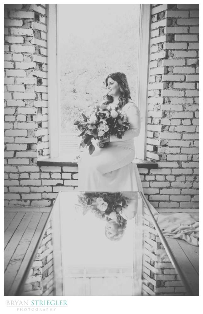 window of bridal suite at the Ravington