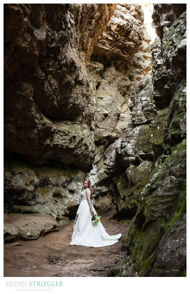 bridals in a state park