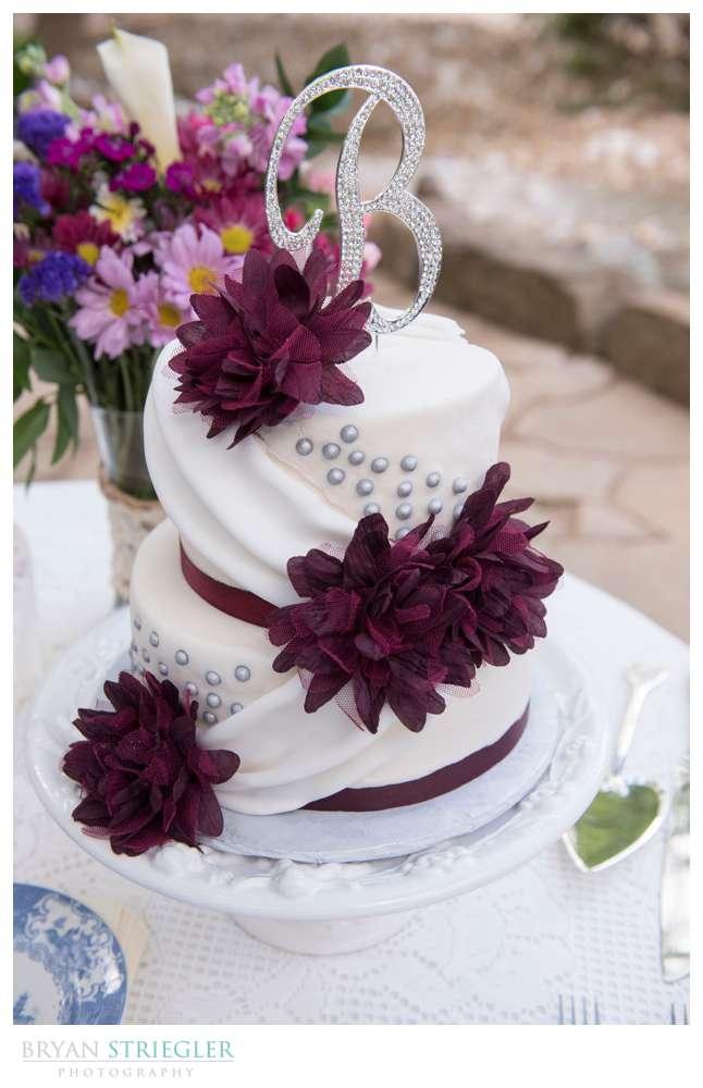 wedding cake for elopement