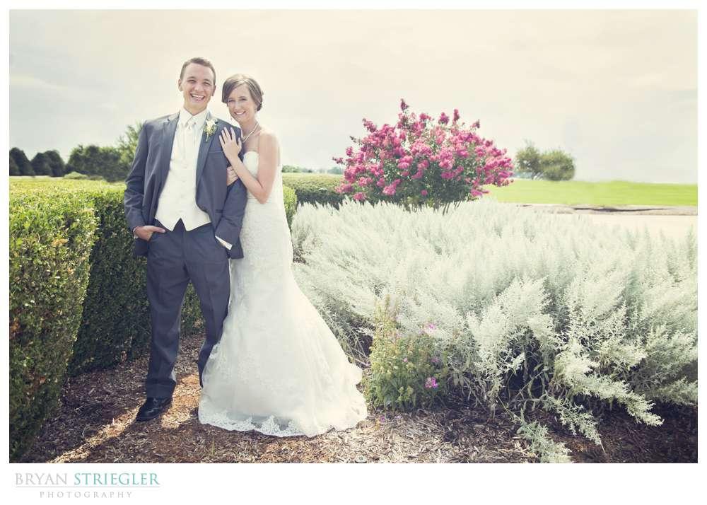 Northwest Arkansas Wedding Photographers bride and groom