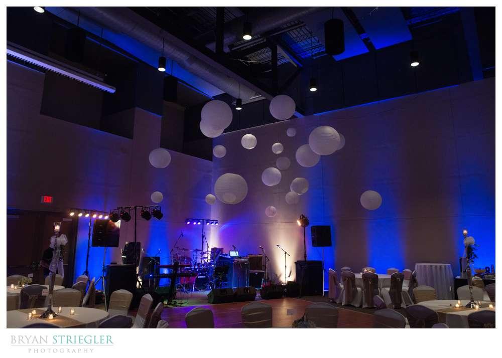 Fayetteville, Arkansas wedding reception Town Center