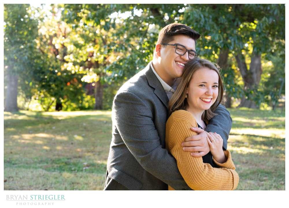 Wilson Park engagement photos