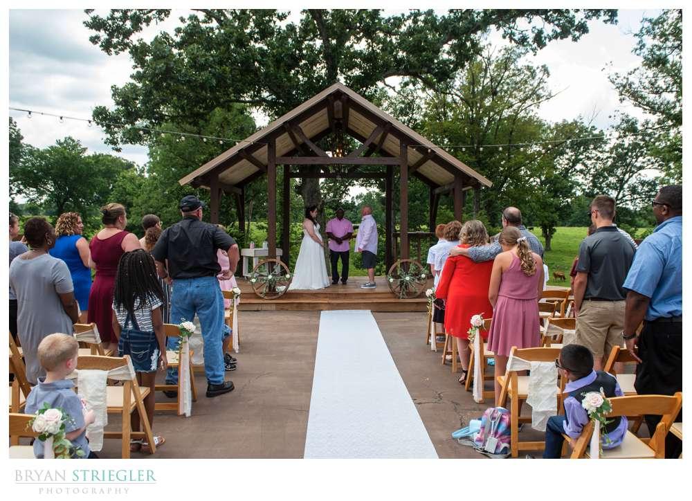 small Tuesday wedding