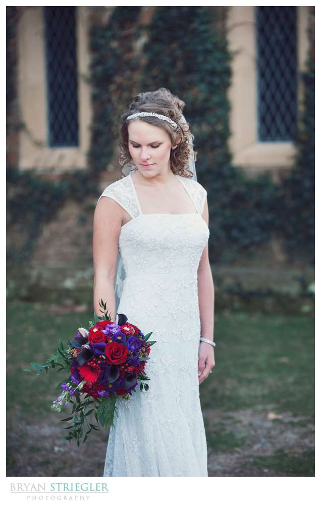 Fayetteville Wedding Photographer bride