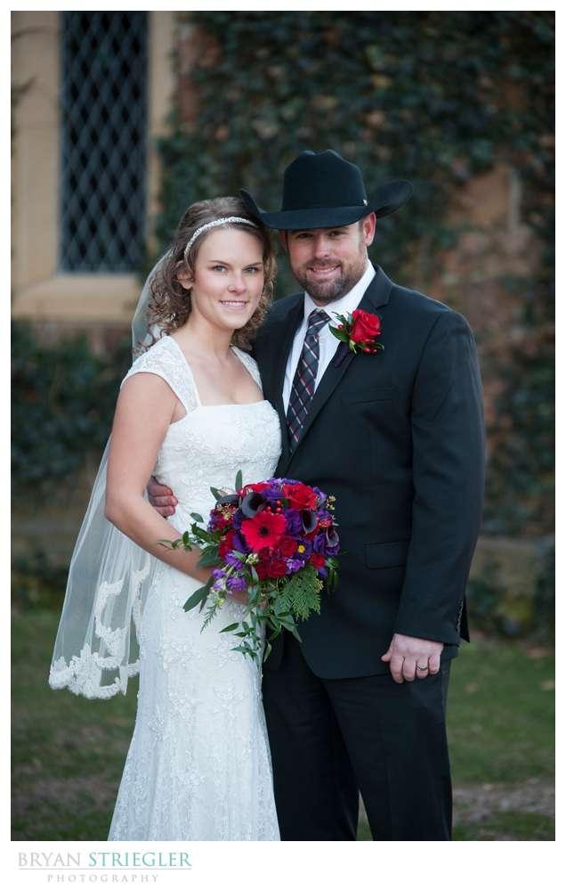 Fayetteville Wedding Photographer couple portrait