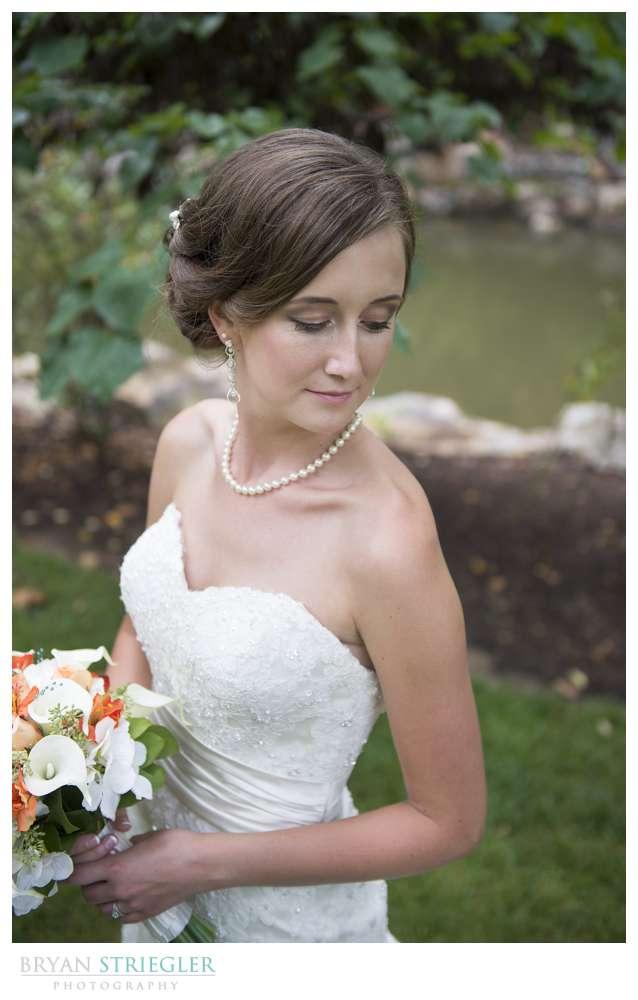 Northwest Arkansas Wedding Photographers bride portrait
