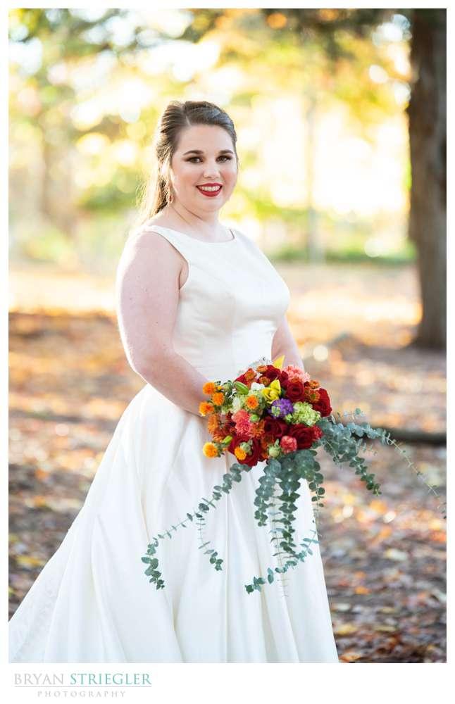 Bridal Session at Mount Sequoyah