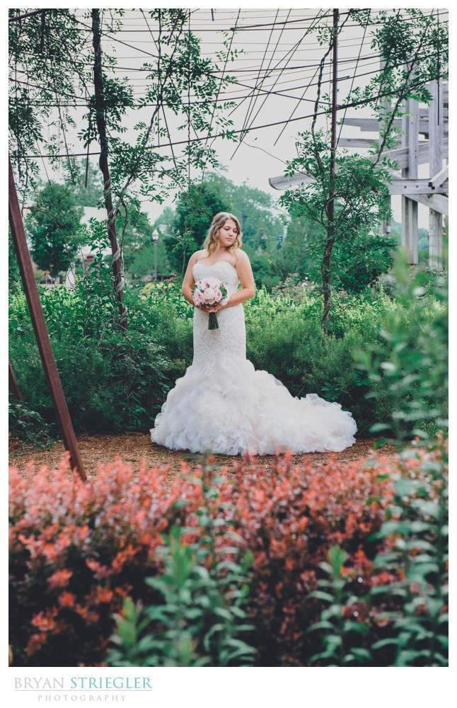 Botanical Gardens Bridal Portraits