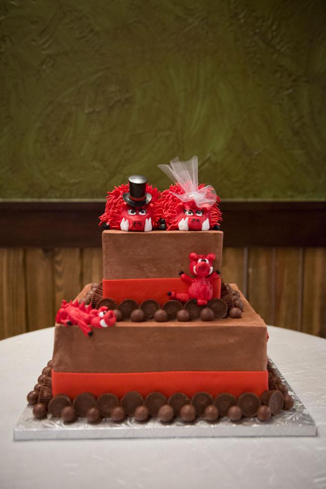 Wedding Cakes Arkansas Razorbacks