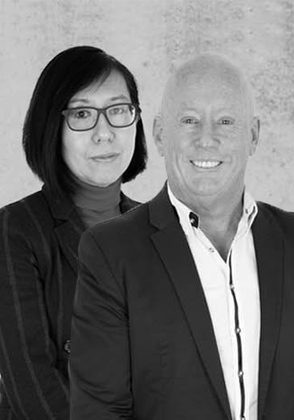 Steve Williams and Caroline Yau