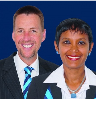 Stuart Parker and Mandy Lata