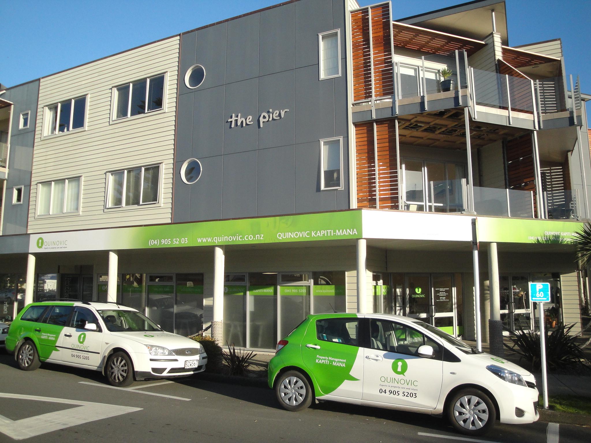 Quinovic Property Management - Kapiti-Mana, Wellington
