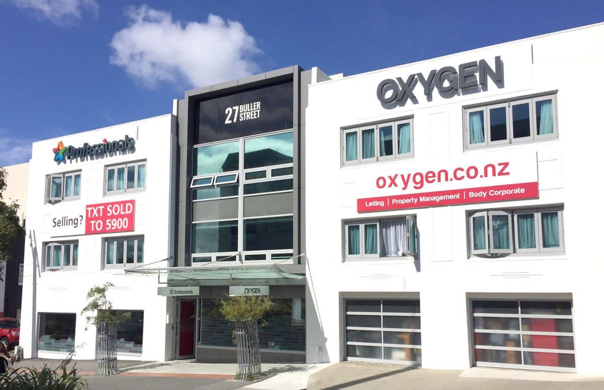 Oxygen Property Management - Wellington
