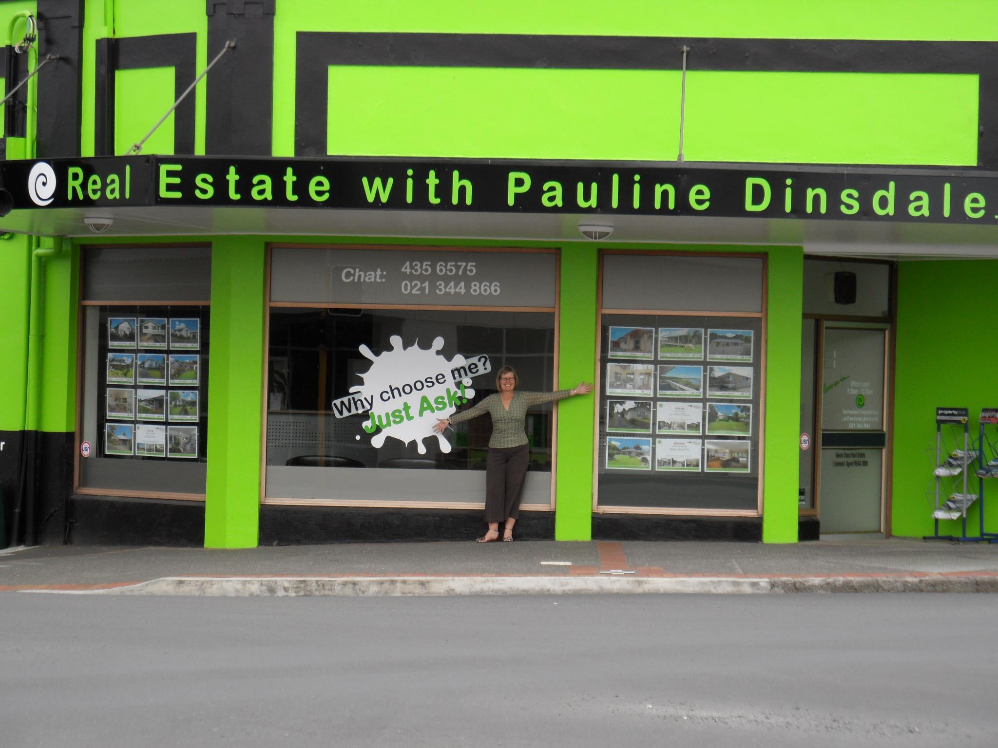 Real Estate with - Pauline Dinsdale