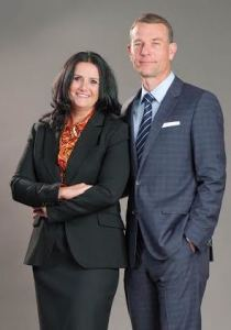 Frank Excell and Ketiesha Elliott