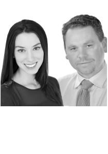 Anna Sareczky and Bruce Parkinson
