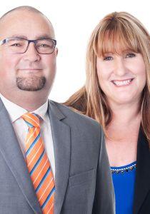 Sheryl Chisholm and Craig Rodgers