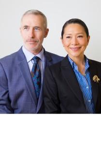 Paul Doney and Sabine Chong